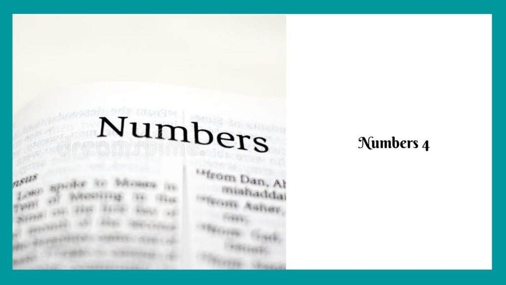 Numbers 4 (The Kohathites) – WikiReligions